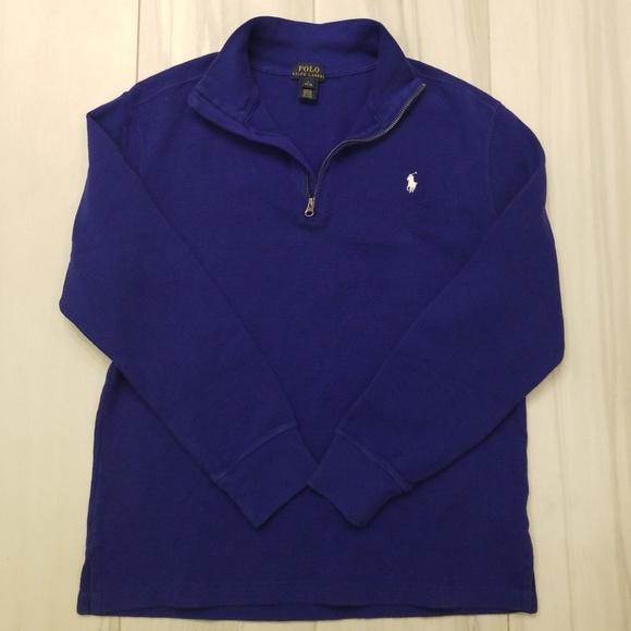 Polo by Ralph Lauren Other - Ralph Lauren boys thermal half zip sweater Large